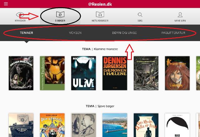 Online lån af boger