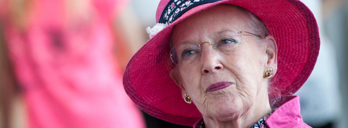 Portrætbillede af Dronning Margrethe d. 2.