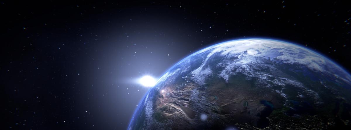 Billede af planet Jorden