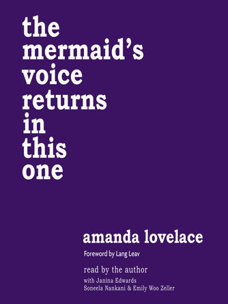 Amanda Lovelace: The mermaid's voice returns in this one