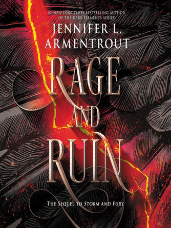 Jennifer L. Armentrout: Rage and ruin : The harbinger series, book 2