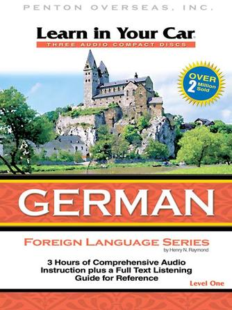: Learn in your car german level one