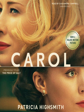 Patricia Highsmith: Carol