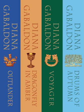 Diana Gabaldon: The outlander series 4-book bundle : Outlander; Dragonfly in Amber; Voyager; Drums of Autumn