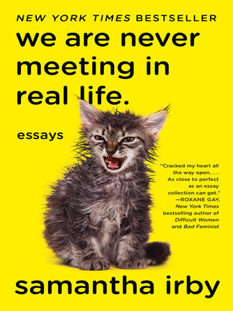 Samantha Irby: We are never meeting in real life : Essays