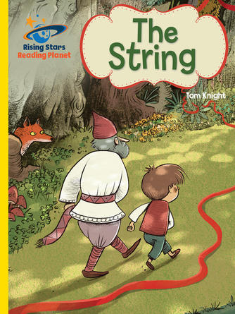 Tom Knight: Reading planet - the string - yellow: galaxy