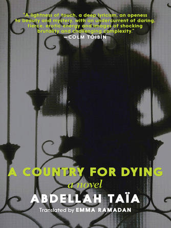 Abdellah Taïa: A country for dying