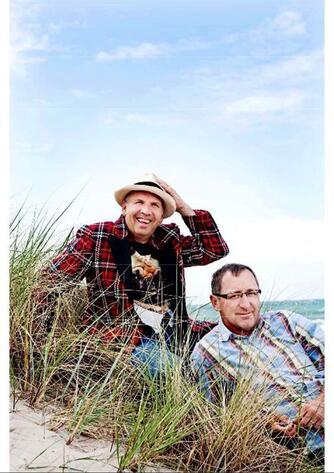 Peter Rundle: Du skal turde grine af det grimme : Finn og Jacob om livet