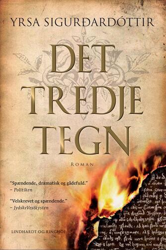 Yrsa Sigurðardóttir: Det tredje tegn