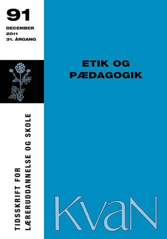 : Etik og pædagogik