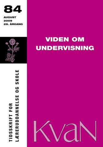 : Viden om undervisning