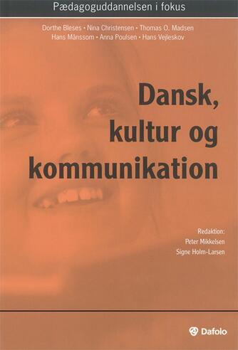 : Dansk, kultur og kommunikation