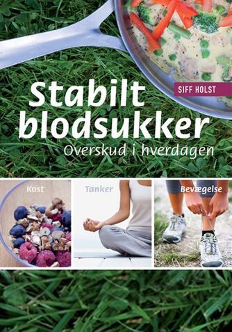 Siff Holst: Stabilt blodsukker : overskud i hverdagen : kost, tanker, bevægelse