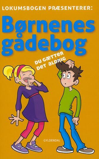 : Børnenes gådebog