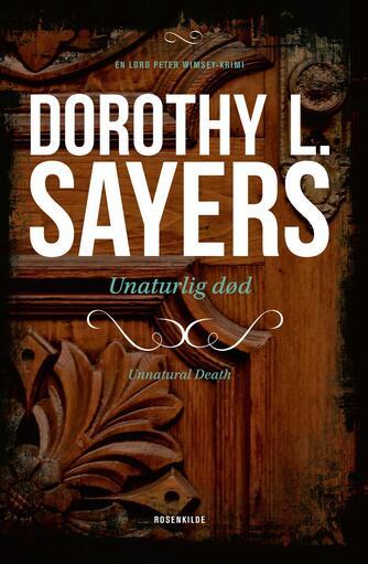 Dorothy L. Sayers: Unaturlig død