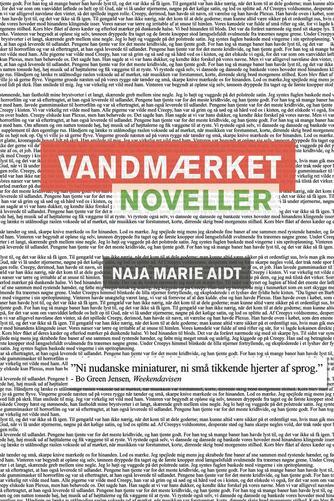 Naja Marie Aidt: Vandmærket : noveller
