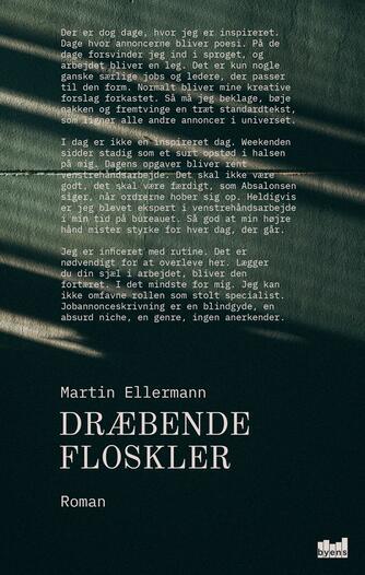 Martin Ellermann: Dræbende floskler : roman