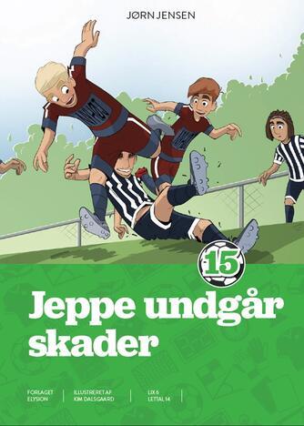 Jørn Jensen (f. 1946): Jeppe undgår skader