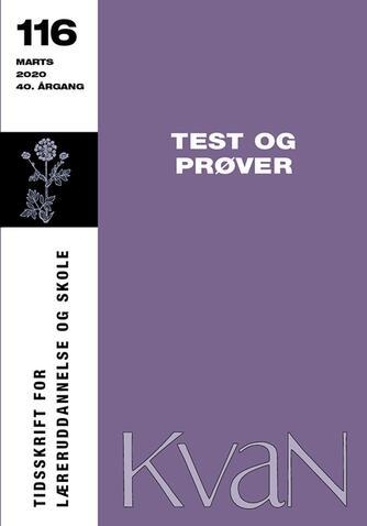: Test og prøver