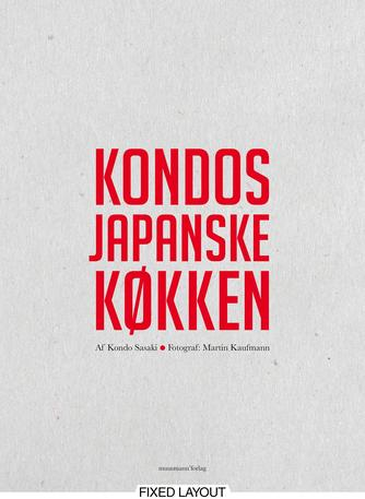 Kondo: Kondos japanske køkken