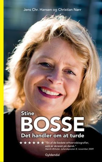 : Stine Bosse : det handler om at turde