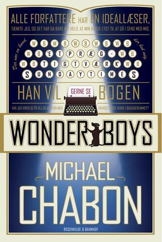Michael Chabon: Wonderboys : roman