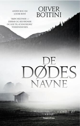Oliver Bottini: De dødes navne : kriminalroman
