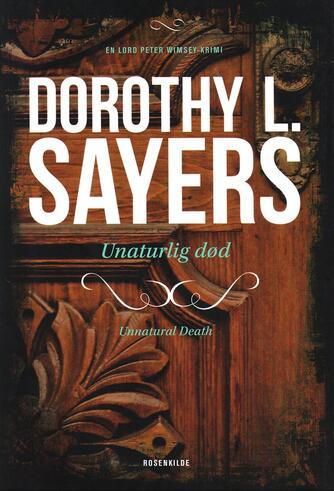 Dorothy L. Sayers: Naturlig død?