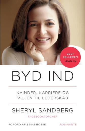 Sheryl Sandberg, Nell Scovell: Byd ind : kvinder, karriere og viljen til lederskab