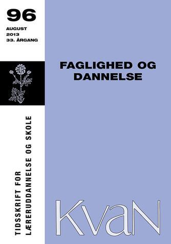 : Faglighed og dannelse