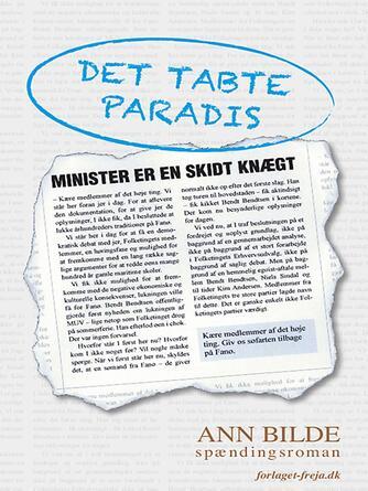 Ann Bilde: Det tabte paradis : spændingsroman