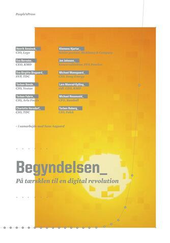 Henrik Amsinck: Begyndelsen : på tærsklen til en digital revolution
