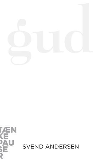 Svend Andersen (f. 1948-03-08): Gud