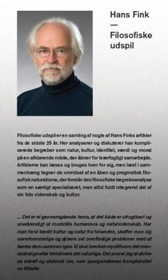 Hans Fink (f. 1944): Filosofiske udspil