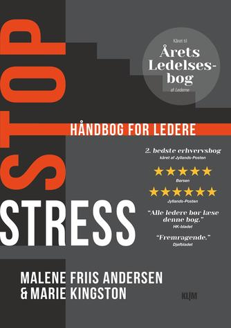 Marie Kingston, Malene Friis Andersen: Stop stress : håndbog for ledere