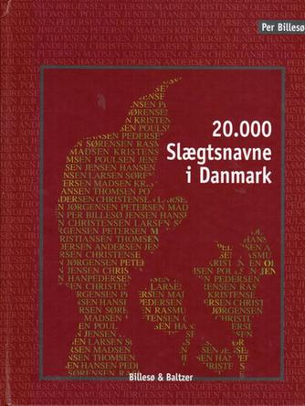 Per Billesø: 20000 slægtsnavne i Danmark