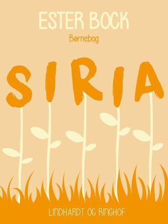 Ester Bock: Siria : børnebog