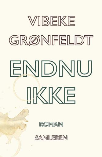 Vibeke Grønfeldt: Endnu ikke : roman