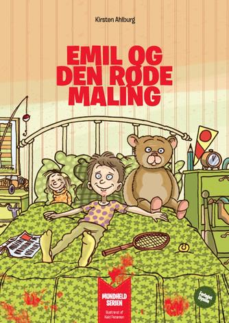 Kirsten Ahlburg, Keld Petersen (f. 1955): Emil og den røde maling