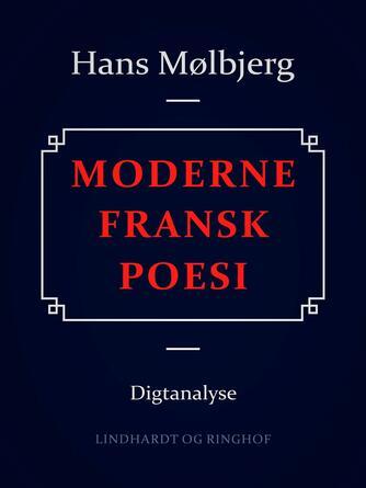 : Moderne fransk poesi