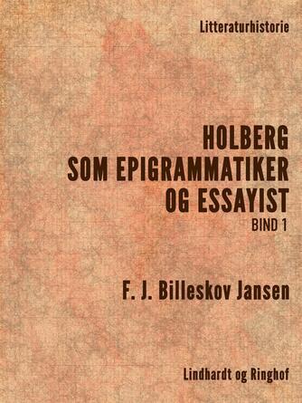 : Holberg som Epigrammatiker og Essayist 1