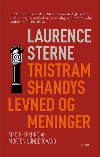 Laurence Sterne: Tristram Shandys levned og meninger : roman