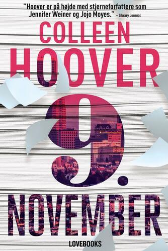 Colleen Hoover: 9. november