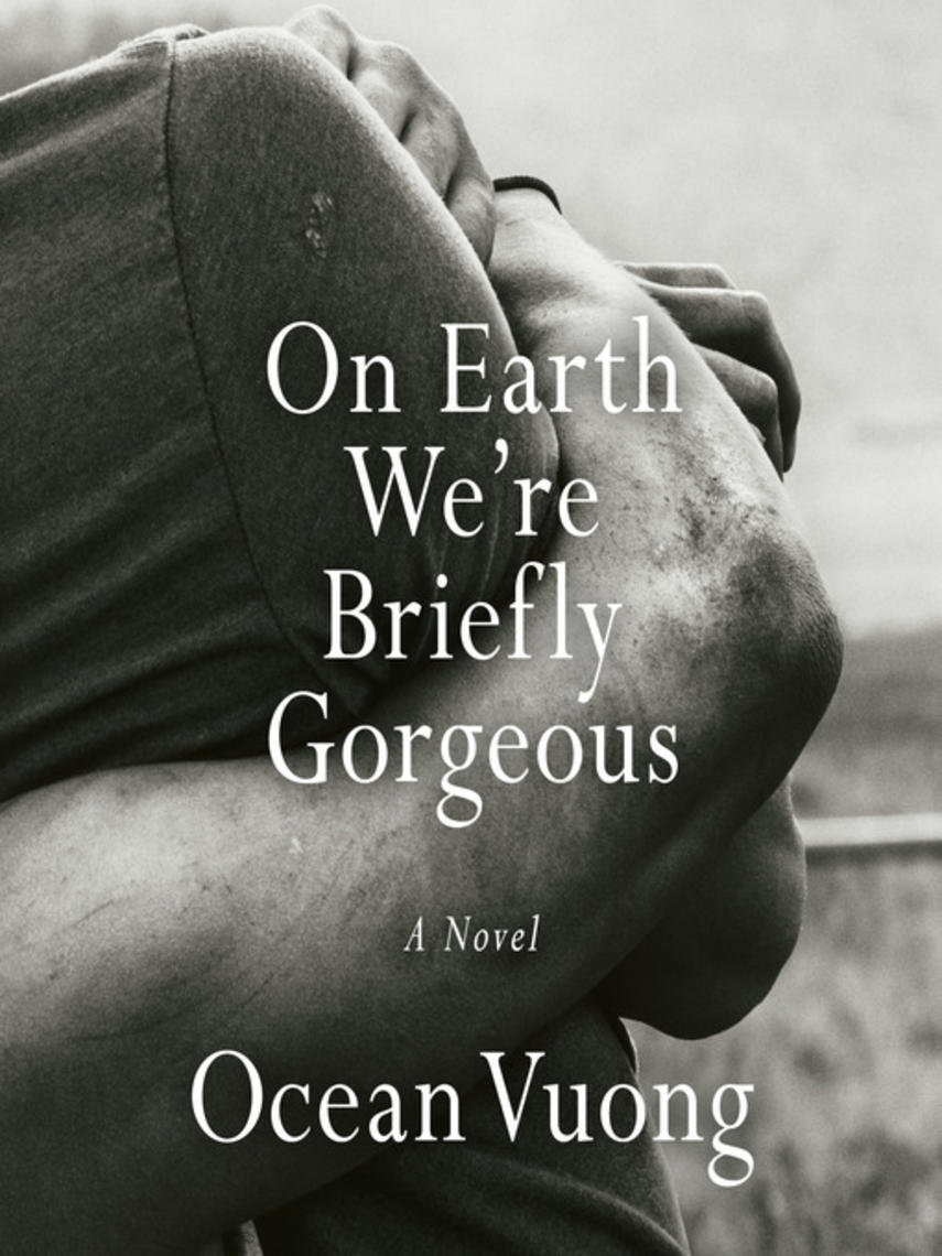 Ocean Vuong: On earth we're briefly gorgeous : A Novel
