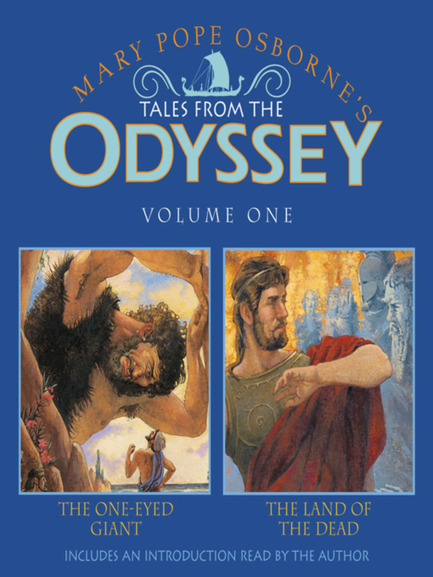 Mary Pope Osborne: The one-eyed giant & the land of the dead : Tales from the Odyssey Series, Book 1