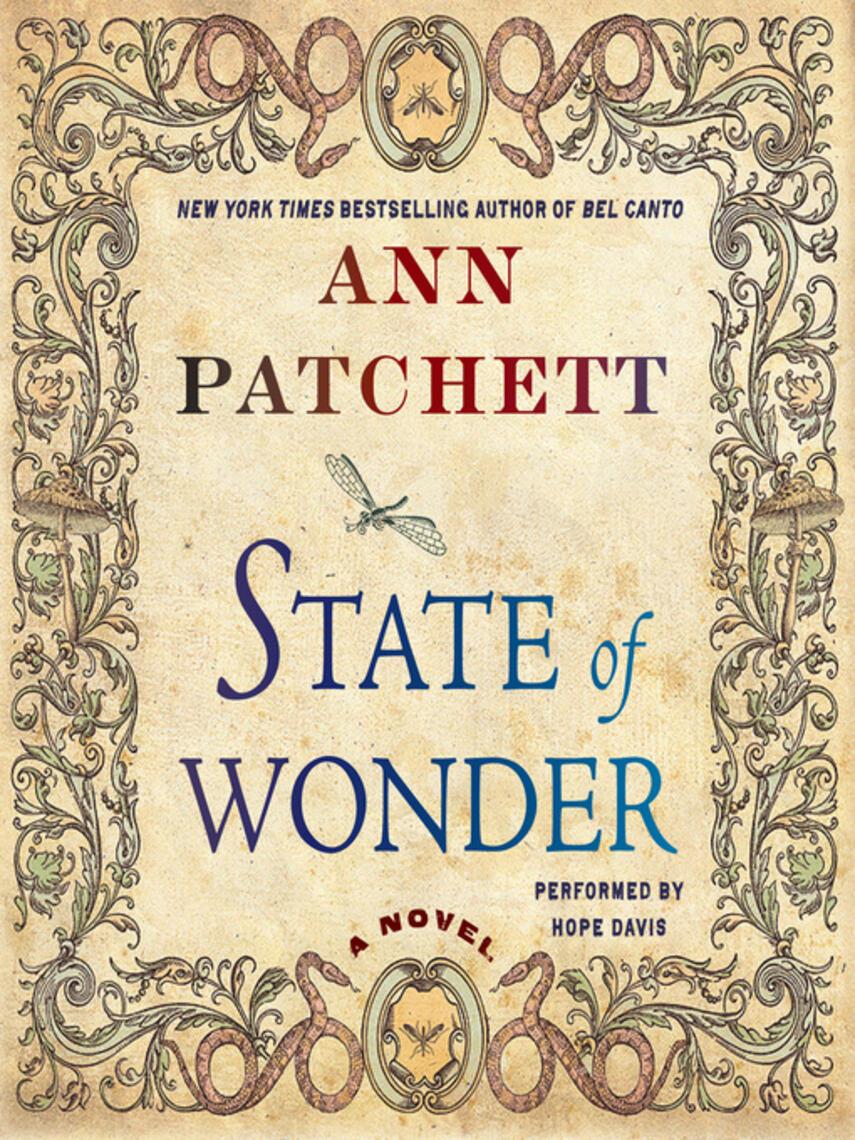 Ann Patchett: State of wonder : A Novel