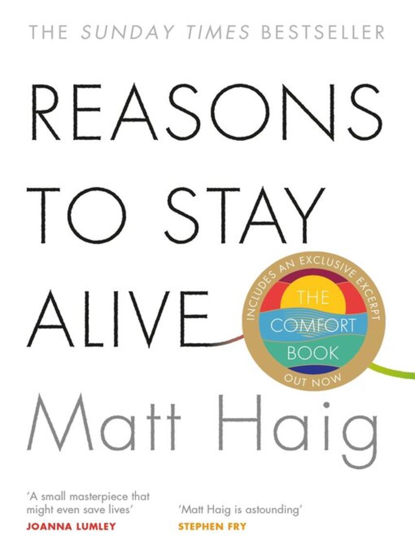 Matt Haig: Reasons to stay alive
