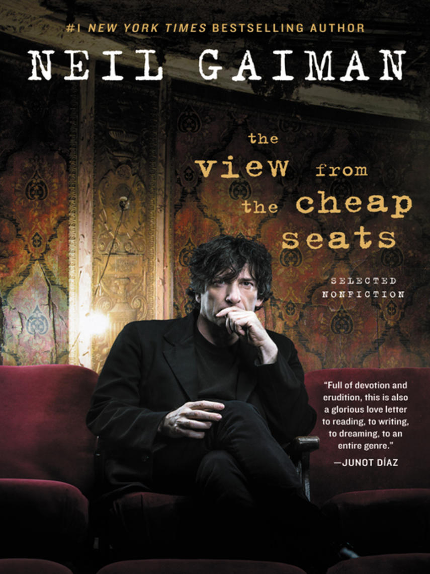 Neil Gaiman: The view from the cheap seats : Selected Nonfiction