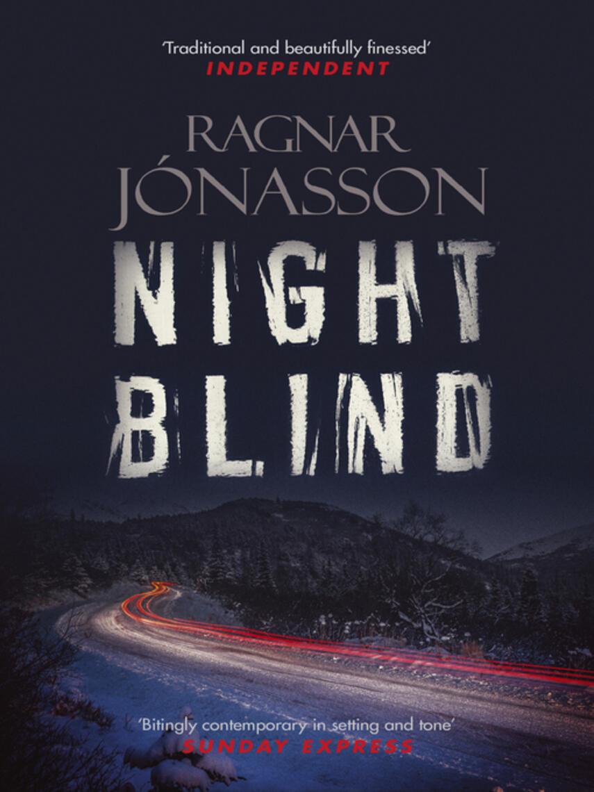 Ragnar Jónasson: Nightblind