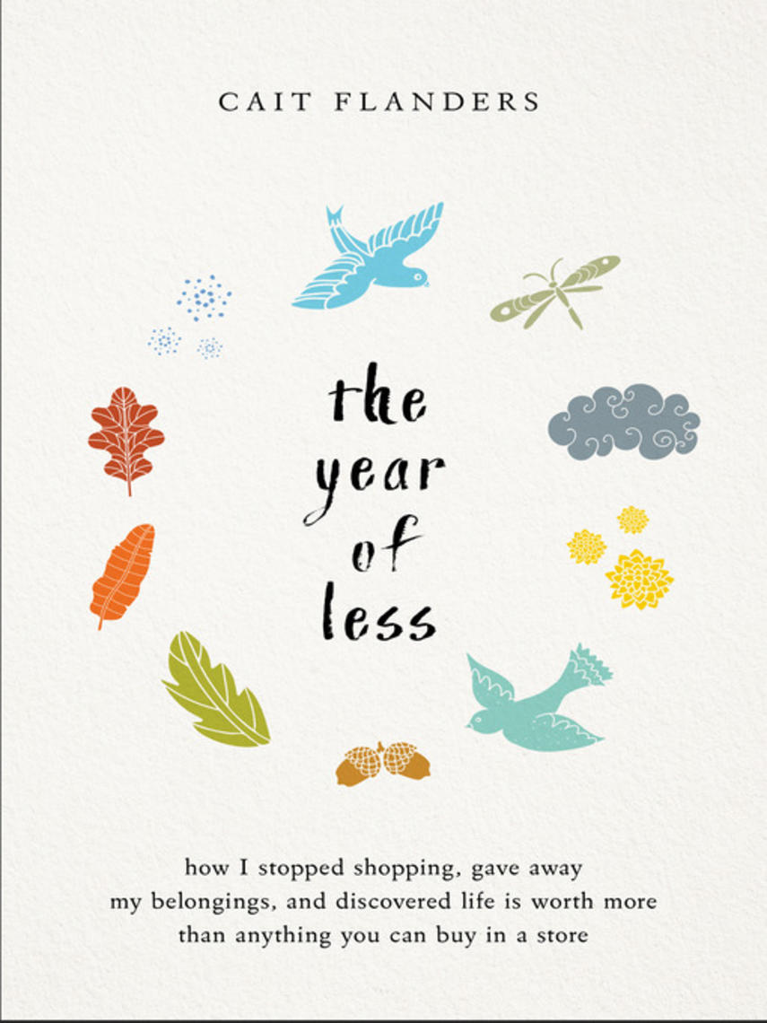 Cait Flanders: The year of less : How I Stopped Shopping, Gave Away My Belongings, and Discovered Life is Worth More Than Anything You Can Buy in a Store